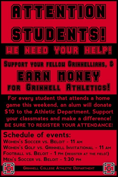 Alumni Challenge Poster